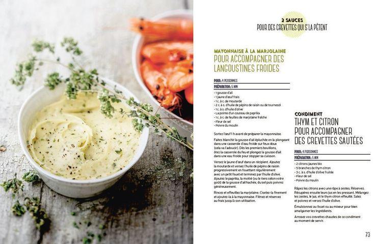 La petite touche qui change tout ! par Anne de la Forest #livre #food #spices #recipe #crevette #shrimp #sauce