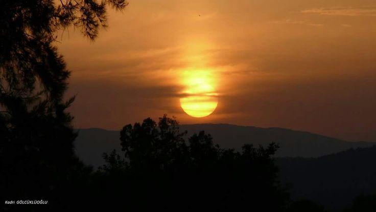 Türkiye_Muğla_Köyceğiz...Günbatımı