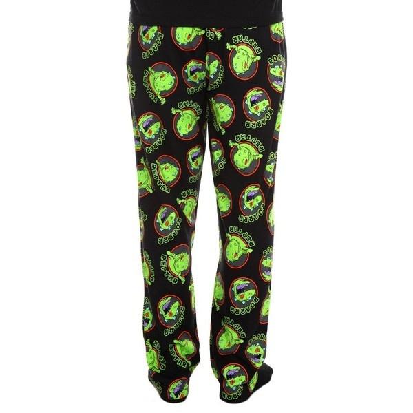 Amazon.com: Rugrats Reptar Roars Pajama Pants: Clothing ($10) ❤ liked on Polyvore