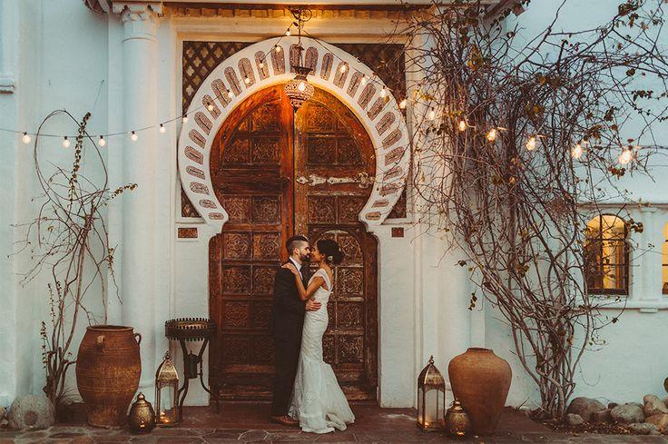 Pensione Korakia Wedding, Palm Springs California photographed by Joel and Justyna Bedford - international destination wedding photographers.
