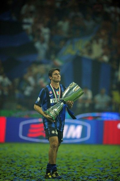 Javier Zanetti announced he is retiring at the age of 40