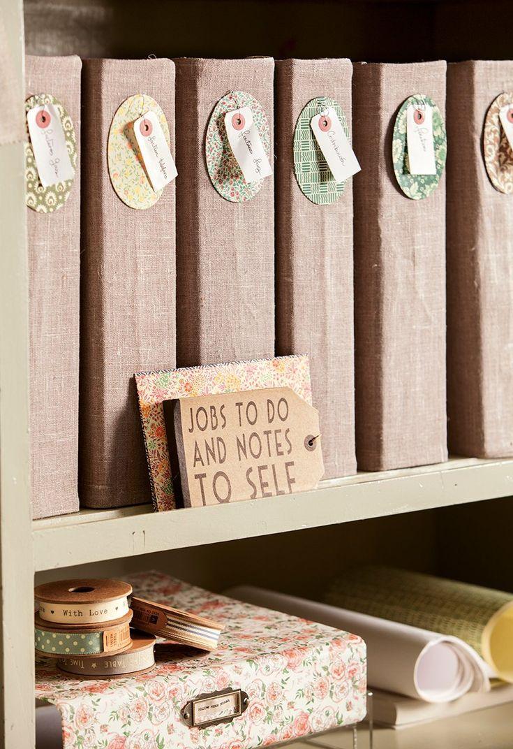 95 best orden en casa images on pinterest books bunk - Ideas para organizar papeles en casa ...