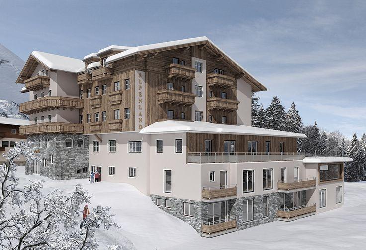 Winterurlaub im 4 Sterne Hotel Alpenland inmitten der atemberaubenden Bergwelt von Obertauern im Salzburger Land bietet Wintervergnügen auf Armeslänge.