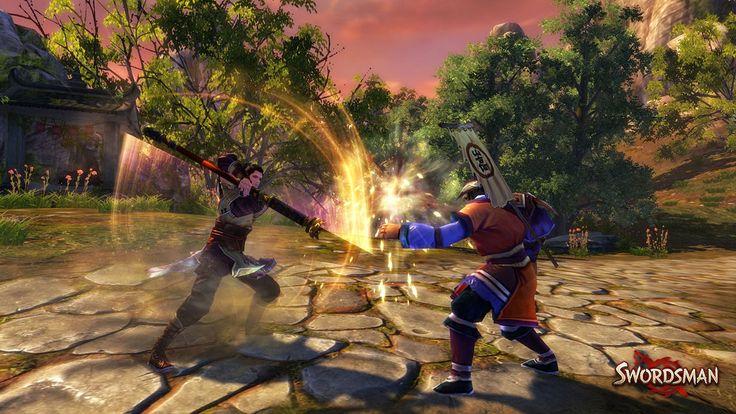 MMORPG Swordsman angekündigt  Perfect World Europe kündigt das kostenlose Martial Arts-MMORPG Swordsman an.  Swordsman versetzt euch in eine asiatische Welt, die auf denerfolgreichen Romanen von Jin Yong basiert. Während derÄra der Ming-Dynastie wollt ihr zu einem Martial Arts-Meister werden und müsst euch dafür einer Re ...