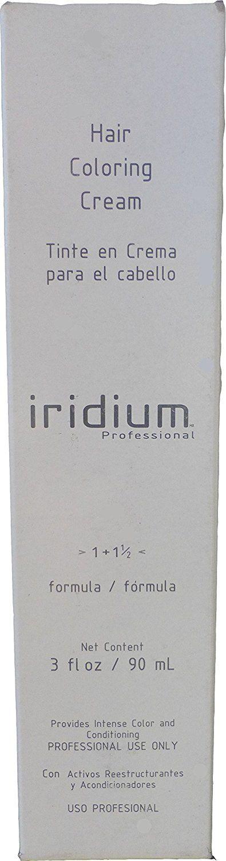 Iridium Hair Coloring Cream Formula 1 1 1/2 (4.52) Medium Brown Mahogany Violet 3 Oz >>> Click on the image for additional details.