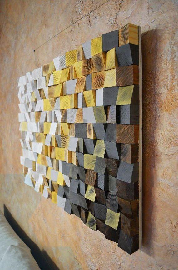 Wood Wall Art Winter Is Coming Reclaimed Wood Art 3 D Wall Art Decor Arte De Madera Recuperada Decoracion De La Pared Rustica Decoracion De Paredes De Casa
