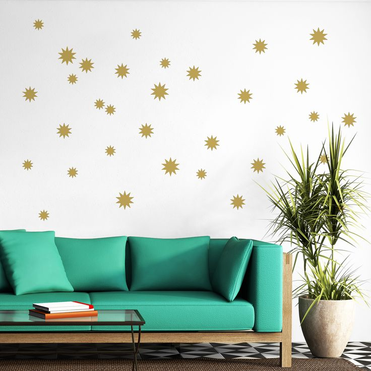 Stars Wall decal from Vinyl Design