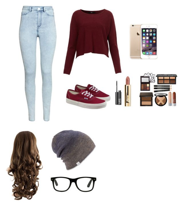 """""""Laza öltözet"""" by tamihoran on Polyvore featuring H&M, Vans, NARS Cosmetics and Coal"""