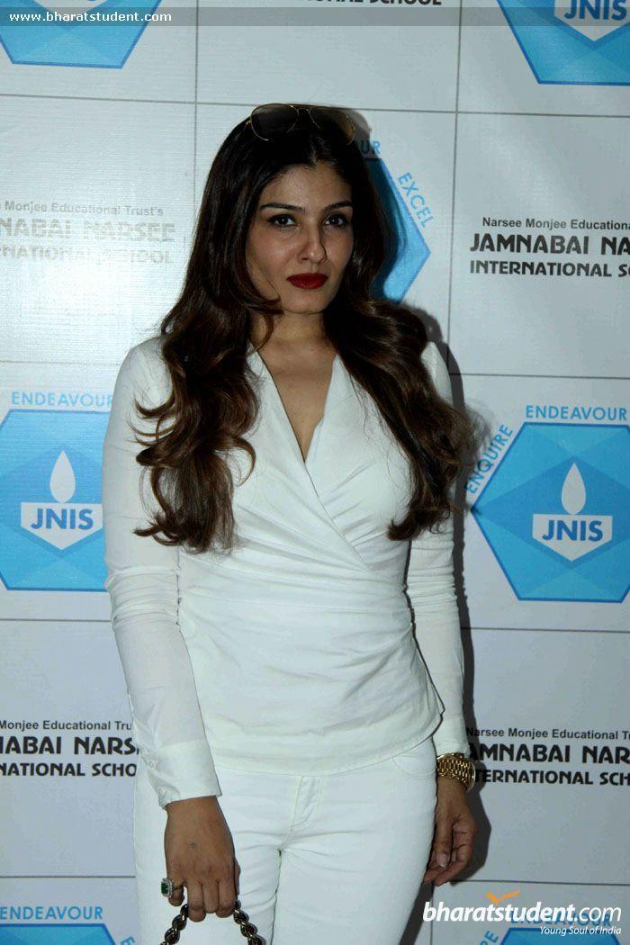 Hindi Events Raveena Tandon Inaugurates JNI School's Indoor Sports Hall Photo gallery
