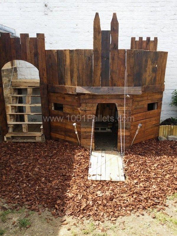 best 25 pallet fort ideas on pinterest kids garden