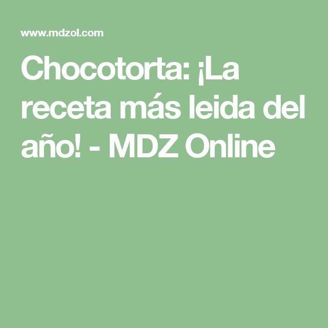 Chocotorta: ¡La receta más leida del año! - MDZ Online