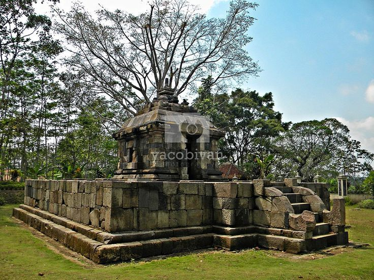 Klero or Tengaran temple, one preserved temples of Sanjaya Dynasty, located in Tengaran - Semarang Regency.