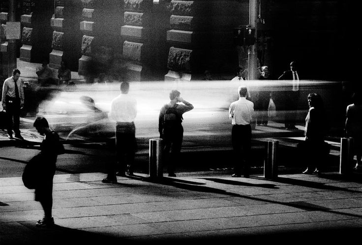 Magnum Photos Photographer Portfolio Trent parke. this image created by Trent parke creates such an amazing image, as he uses movement and waits for the right moment to capture his images.