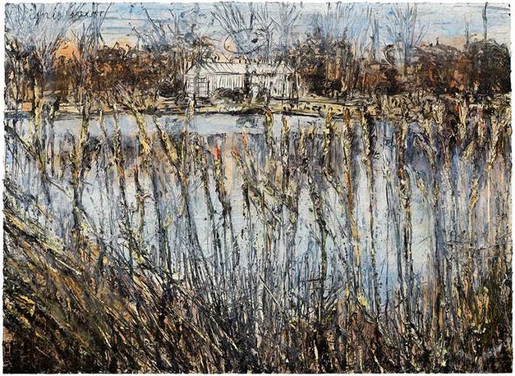 """The exhibition titled """"Transition from Cool to Warm"""" featuring works of German painter and sculptor Anselm Kiefer is on view at Gagosian Gallery, New York."""