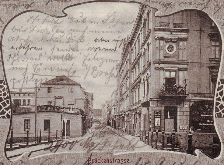 Mostowa w kierunku Starego Rynku , przed 1901