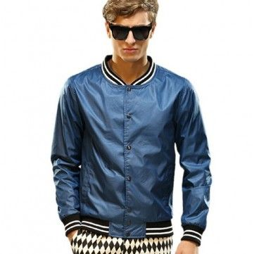 Men's Autumn Fashion Slim Fit Outwear Plus Size Casual Stylish Jacket - NewChic