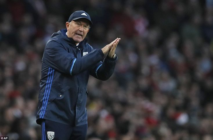 Tony Pulis was close to picking up a hard-fought point against the Gunners on Monday in the Premier League