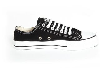 Black/White Lowcuts (Kids) - Fair Trade Shop. 'They may look similar to a well-known brand but these bad boys are radically different. Read more on our website.' #shoes #sneakers #fairtrade #kids