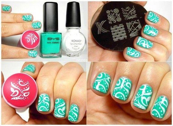 Como pintar las uñas con sellos – Paso a paso