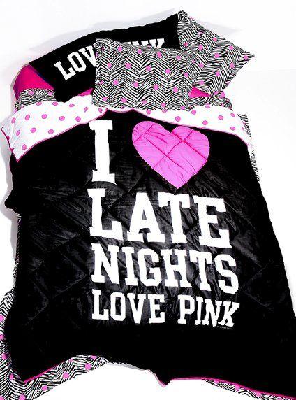 Reversible Comforter - Victoria's Secret Pink® - Victoria's Secret