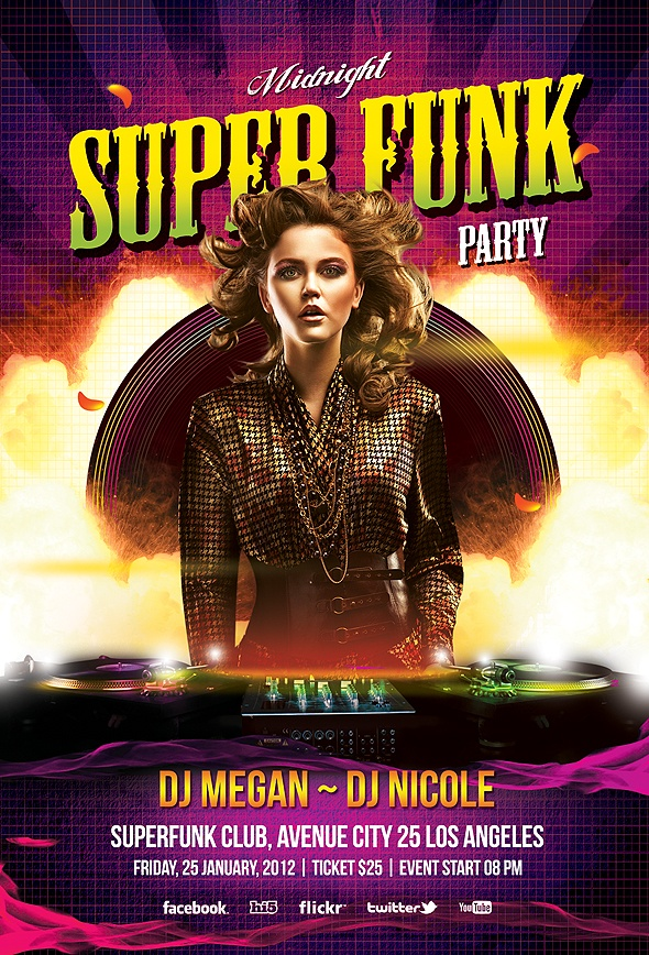 Various Super Disco Party
