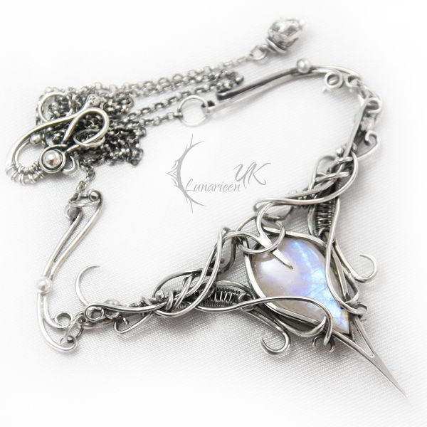 ANTINLIURN - silver and moonstone by LUNARIEEN on deviantART