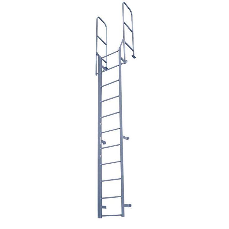 Fixed ladder w walkthru handrails fw series in 2020