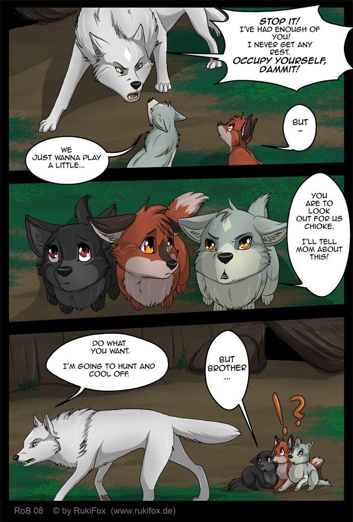 Фурри волки комикс фото 4-674