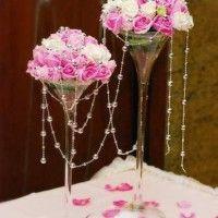 Idée décoration vase martini - 2