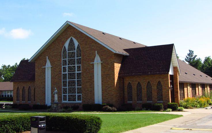St Bernard Catholic Church, Louisville Kentucky.