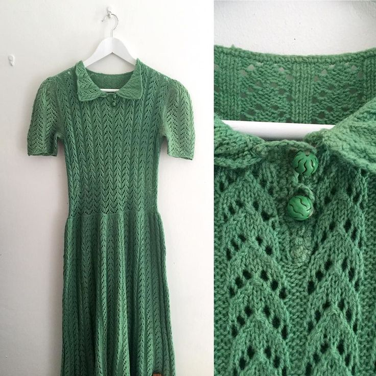 New productgreenhand knitted dress with watermelon buttons #fab.#vintage#vintagefashion #ヴィンテージ#ヴィンテージファッション #ヴィンテージワンピース #ヴィンテージドレス#ビンテージ #ニットワンピース #ヴィンテージニット #スイカ