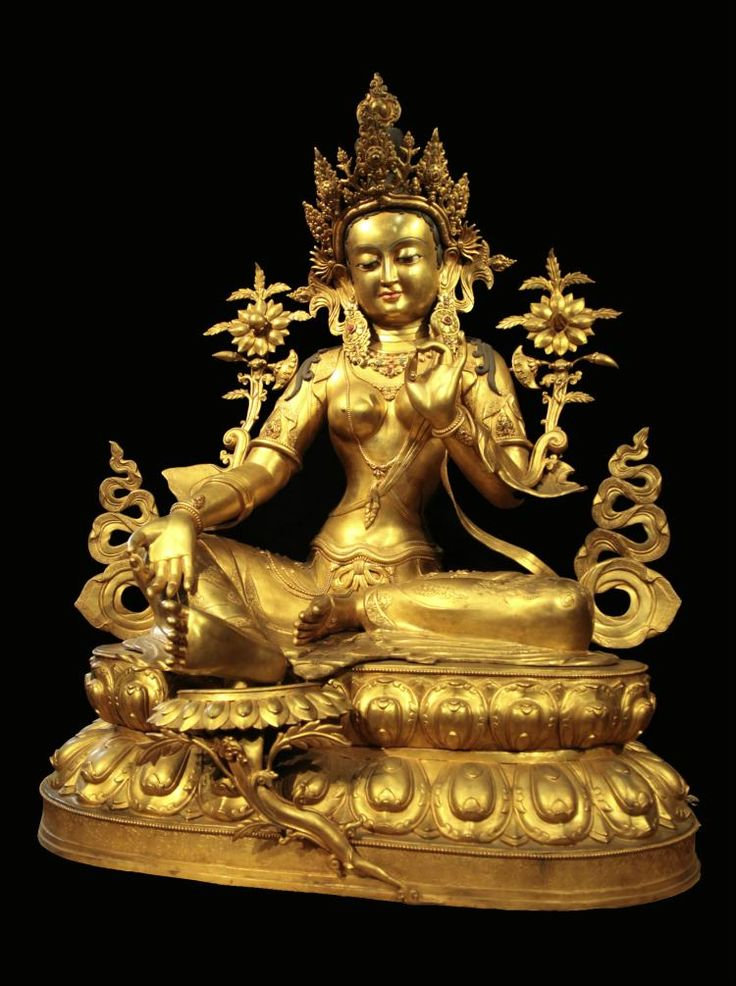 National Treasure: Qing Dynasty Imperial Gilt-Bronze Figure of Green Tara This giant gilt-bronze green tara statue weighing more than 100 kilograms is so unprecedented that it is certainly a masterpiece made during the reign of the Qianlong Emperor of the Qing Dynasty. This green tara statue is exquisite in modelling, elegant in posture, detached in romantic charm, meticulous in carving and casting process, and giant in shape. It must be the royal family who could meet all these fastidious…