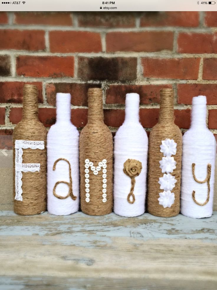 17 best images about crafts altered bottles glass on for Empty bottle craft