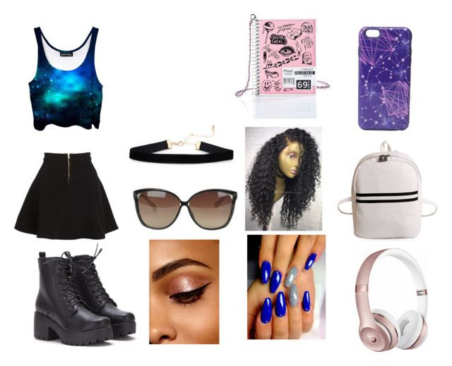 """Fashion"" by isabelegolia on Polyvore featuring Parker, Beats by Dr. Dre, Vera Bradley, Current Mood and Linda Farrow"