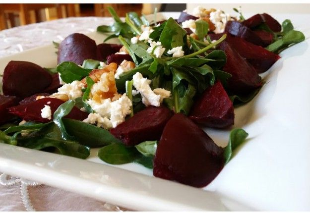 Beetroot and Walnut Salad - Real Recipes from Mums