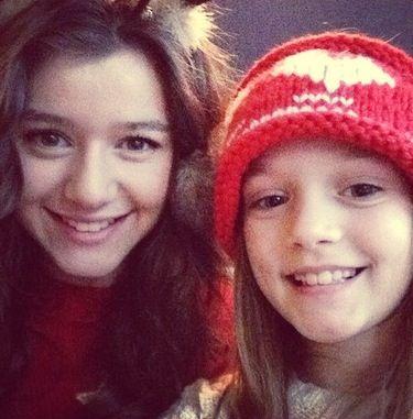 Eleanor Calder And Daisy Tomlinson