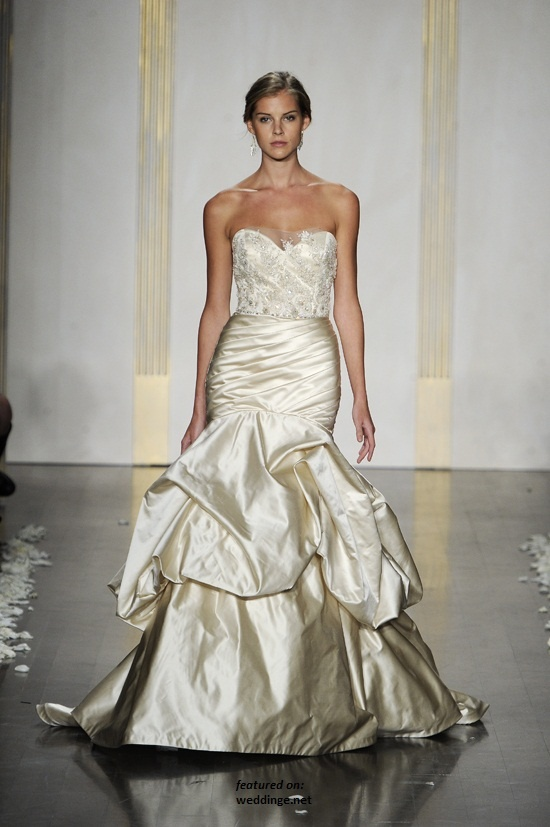 17 best images about dresses at bridals by lori on for Lazaro wedding dress price range