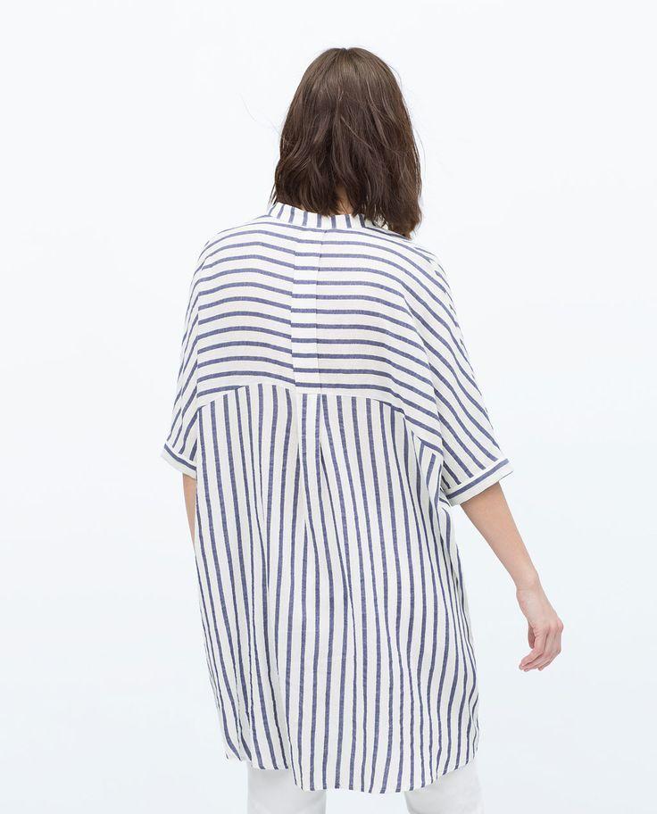 ceee729b37b Striped maxi shirt  style  clothes   Mode für Frauen