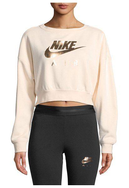 e15c1213f70b Nike Air Cropped Athletic Sweatshirt in 2019