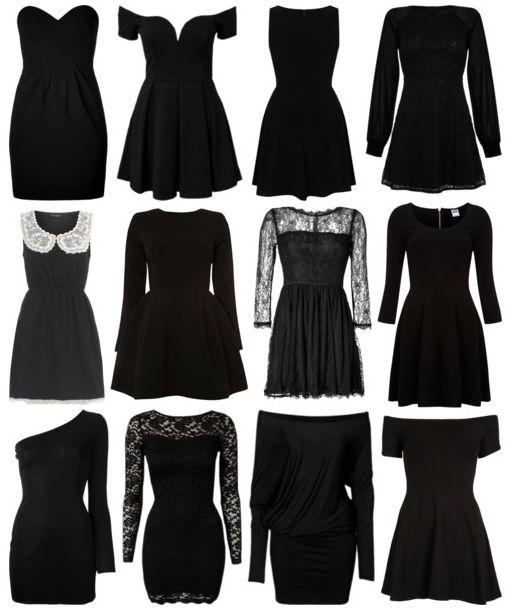 Preferences And Imagines His Favorite Little Black Dress On You ...