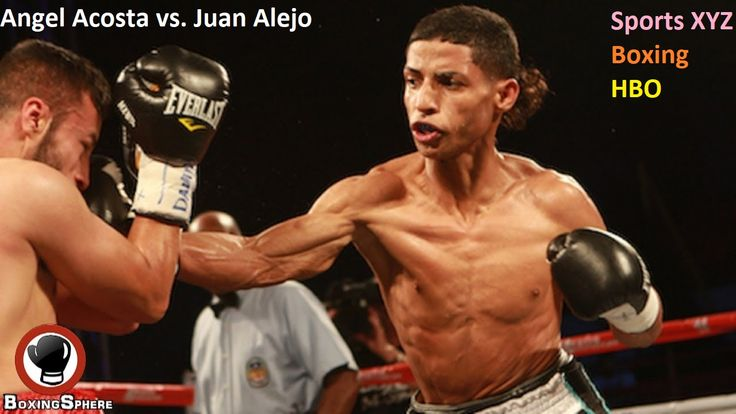"""Angel Acosta vs. Juan Alejo HBO Fight Card: Heavenly attendant Acosta, a protégé of four-division best on the planet Miguel Cotto, will have the chance to battle for a title on his undercard.  Acosta will go up against Juan """"Pinky"""" Alejo for an empty between time junior flyweight title on Dec. 2 at Madison Square Garden"""