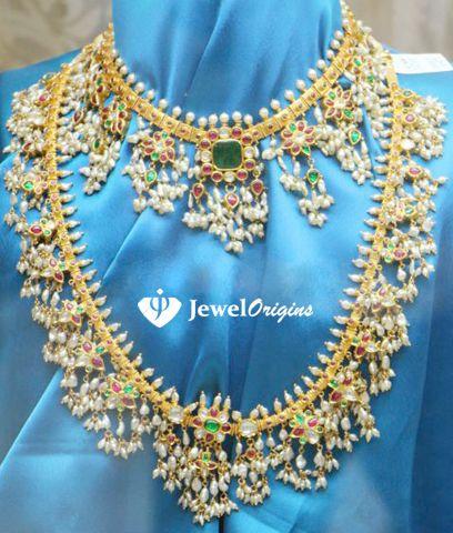 jewelorigins.com-Indian Designer Gold and Diamond Jewellery,Indian Bridal Jewellery: Polki
