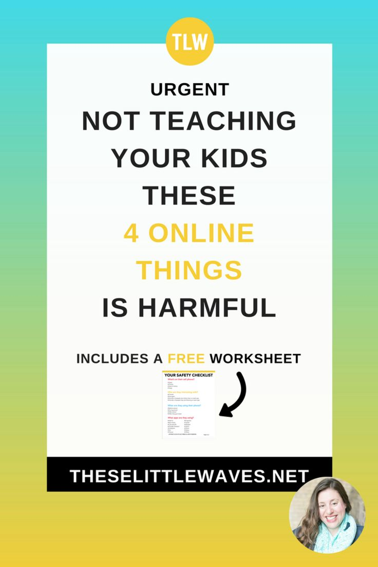 URGENT: Not teaching your kids these 4 online things is harmful to them