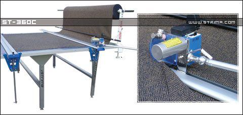 """SU LEE ST-360C 96"""" – Odkrawacz manualny, maksymalna szerokość stołu 200 cm"""