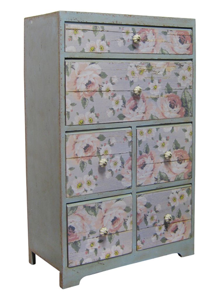 Lemonade On The Lawn   Floral Country Cupboard DS