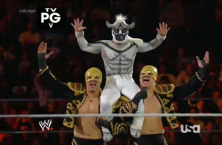 Los Matadores Remove Their Masks In PR, The Bella Twins Storyline Update, Performance Center - http://www.wrestlesite.com/wwe/los-matadores-remove-masks-pr-bella-twins-storyline-update-performance-center/