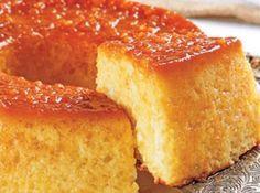 Torta Pudim de Tapioca - Veja mais em: http://www.cybercook.com.br/receita-de-torta-pudim-de-tapioca.html?codigo=108935