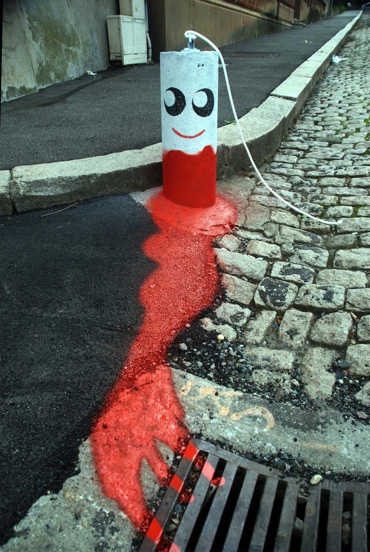 Menstrual street art! http://www.streetartutopia.com/?p=10366