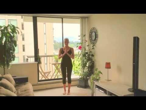 Clase de yoga básico - Posturas de Equilibrio (Árbol) - YouTube