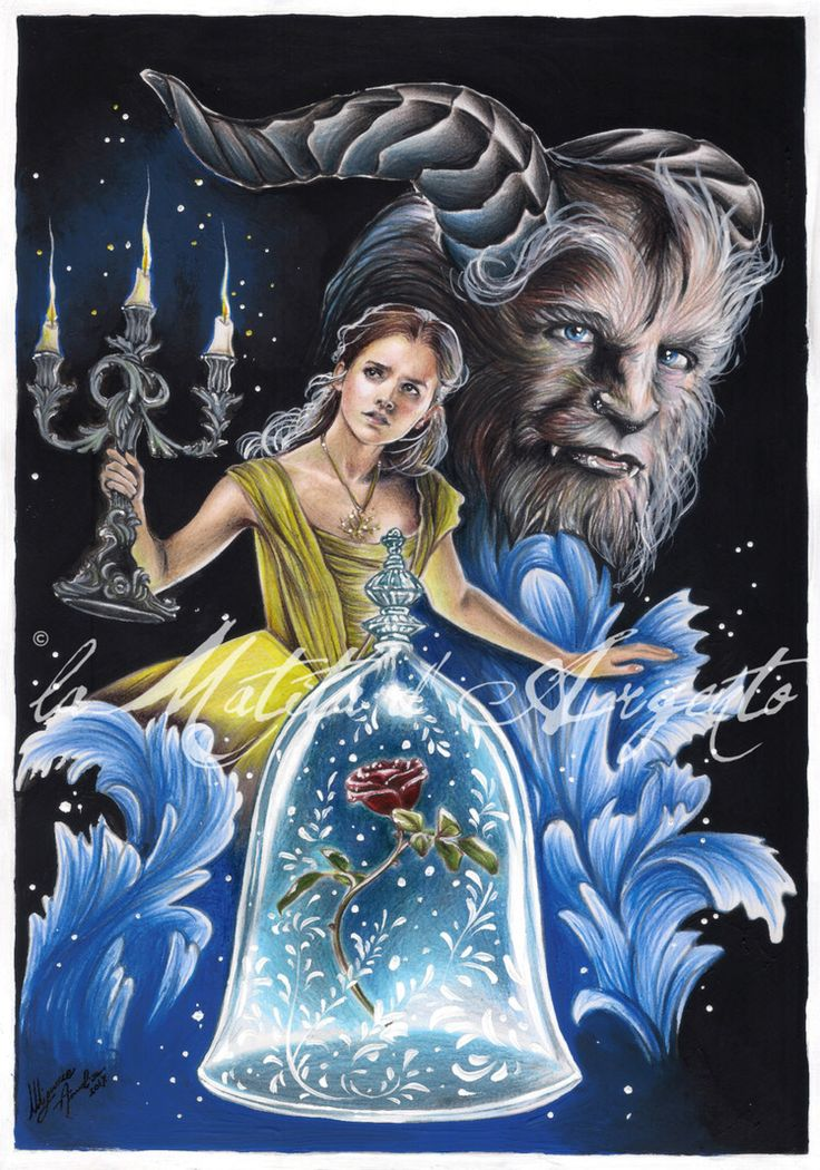 Beauty and the Beast 2017 by laMatitadArgento on @DeviantArt